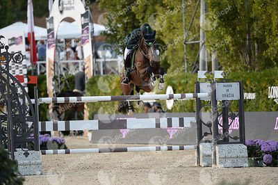 Doda DE MIRANDA ,(BRA), AD LIVING THE DREAM during Longines Cup of the City of Barcelona competition at CSIO5* Barcelona at R...
