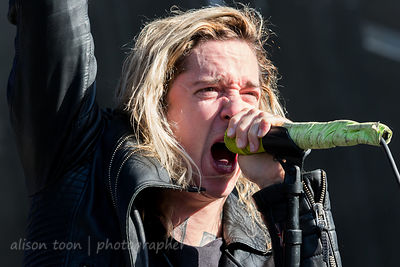 Spencer Chamberlain, vocals, Underoath