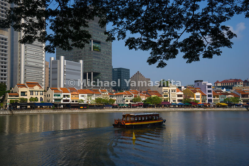 Having plied the Singapore River for more than a decade and a half, Singapore's charming bumboats are now powered by environm...