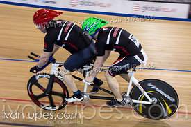 Para Men Tandem Kilo Time Trial. Canadian Track Championships (Jr, U17, Para), April 15, 2018