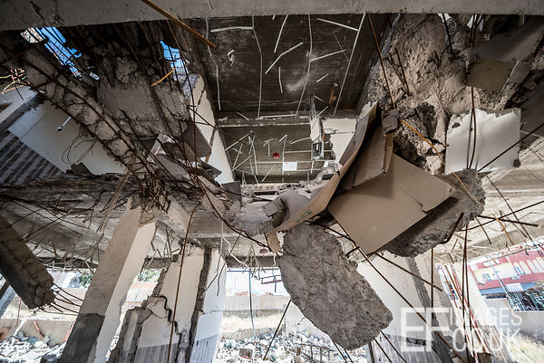 Sinjar City Town Hall, eighteen months after being hit by an airstrike as the city was liberated from ISIS in a fierce battle...