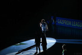 Announcements during the Final Tournament - Semi final match - PPD Zagreb vs Celje Pivovarna Lasko - Final Four - SEHA - Gaz...