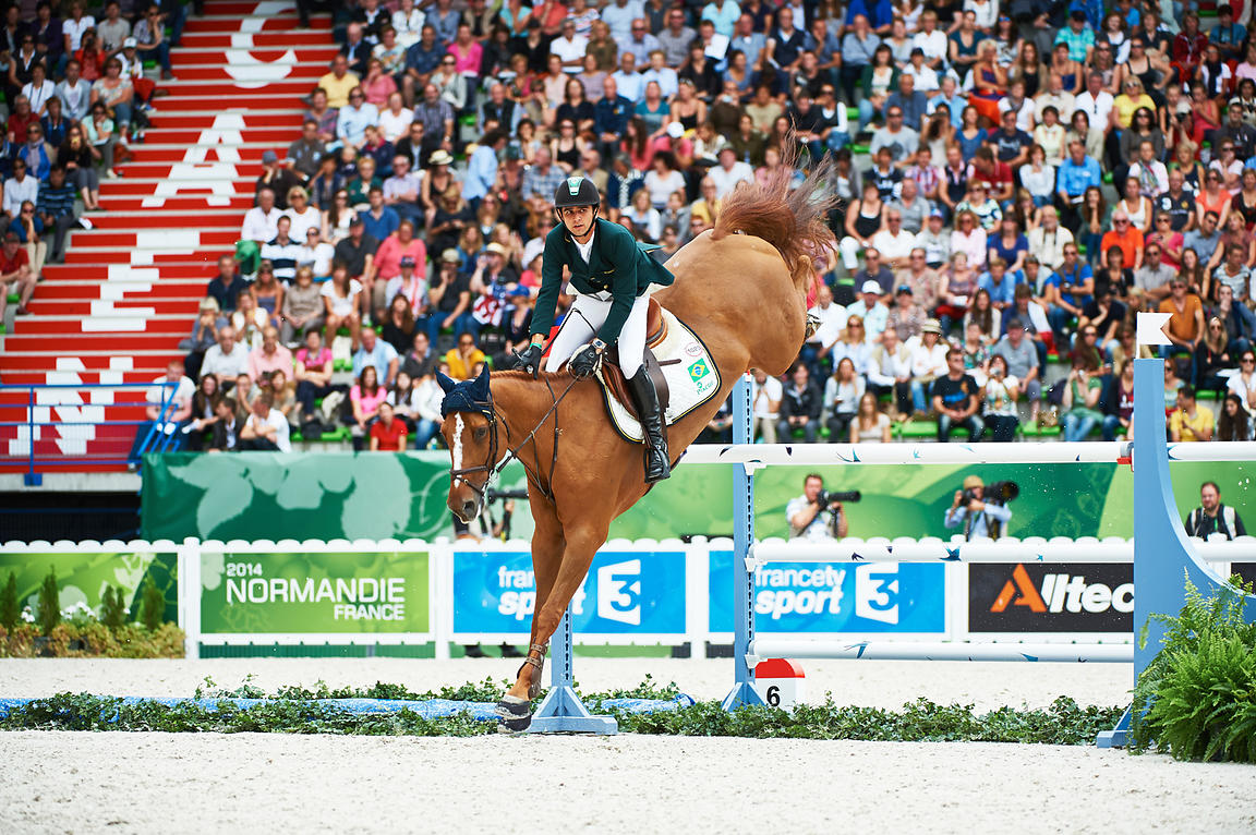 MODOLO ZANOTELLI, Marlon, (BRA), AD Clouwni during Showjumping 1,50 class at Alltech World Equestrian Games at Stade Michel D...