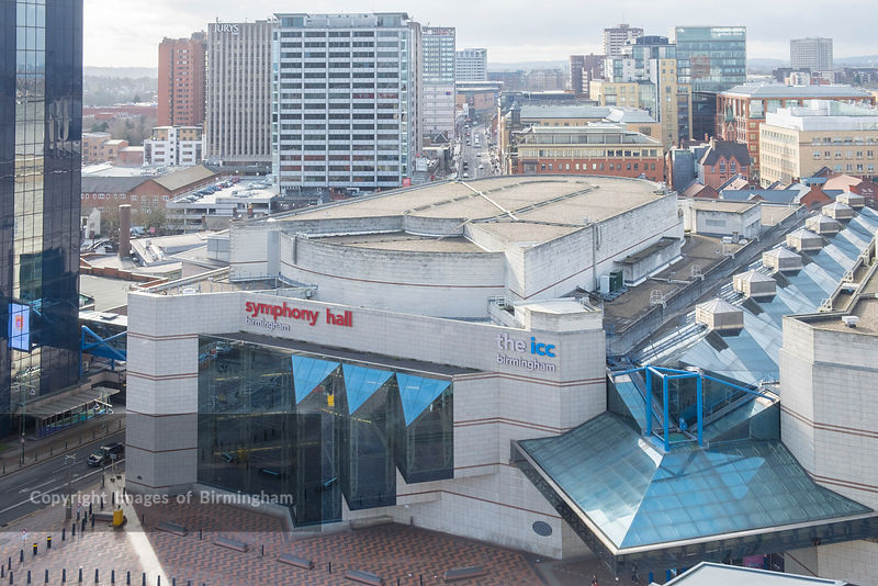 The Symphony Hall and ICC, Centenary Square, Birmingham