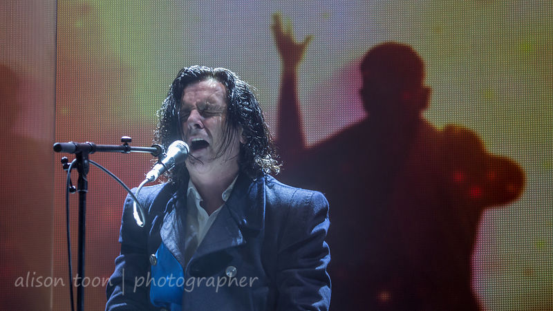 "Steve Hogarth (""H""), vocals, Marbles evening, Marillion Weekend, PZ 2015"