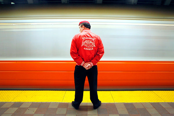 Guardian Angels' founder Curtis Sliwa