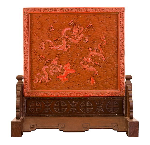 lacquerware screen