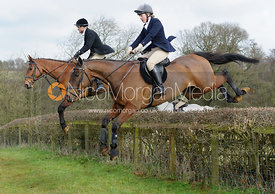 James Henderson, Annabel Henderson jumping a hedge