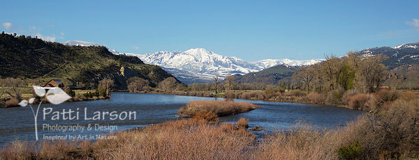 Yellowstone River and Emigrant Peak