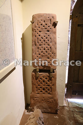 9th Century decorated cross shaft, Church of St Michael & All Angels, Addingham, Glassonby, Cumbria, England