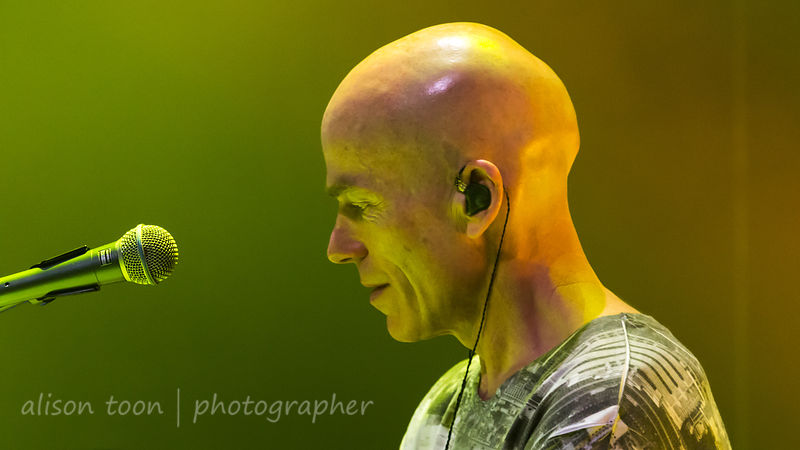 Mark Kelly, keyboards, Marillion, Sunday evening, PZ, 2015