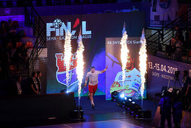 Siarhei Shylovic during the Final Tournament - Semi final match - Vardar vs Meshkov Brest - Final Four - SEHA - Gazprom leagu...
