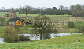 The Belvoir Hunt at Croxton Park 23/2
