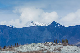 Talkeetna Mountains from Matanuska Glacier