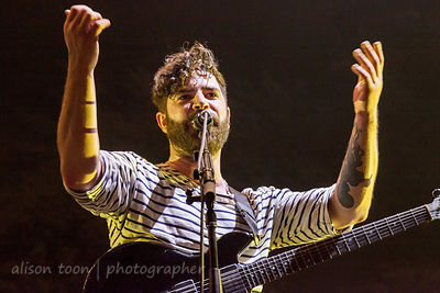 Yannis Philippakis, guitar and vocals, Foals