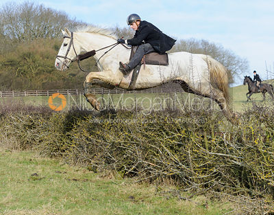 The Cottesmore Hunt at Parva Lodge 20/1
