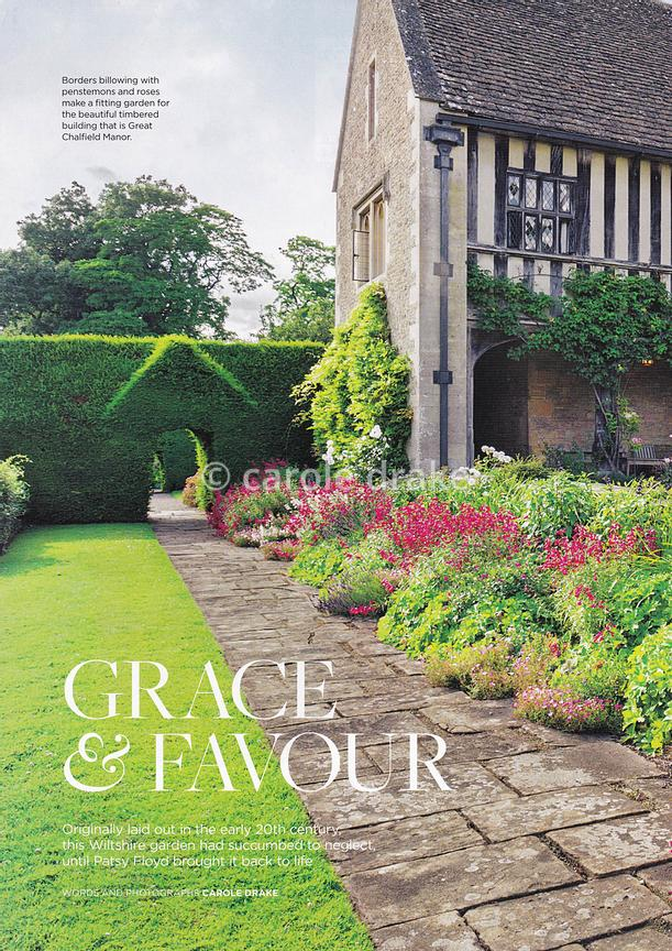 Great Chalfield Manor, The English Garden, August 2017