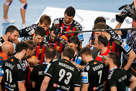 Raul GONZALES of Vardar during the Final Tournament - Final Four - SEHA - Gazprom league, semi finals match, Varazdin, Croati...