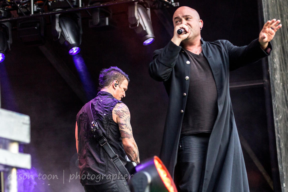 David Draiman and Dan Donegan, Disturbed