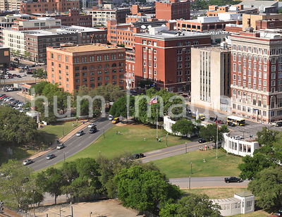 Dallas Stock Photos: Dealey Plaza in Downtown Dallas' West End District