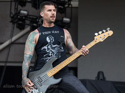 Aaron Patrick, bass, All That Remains
