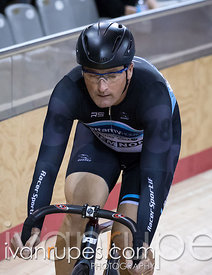 Master B Men Sprint 1-2 Final. Canadian Track Championships, Mattamy National Cycling Centre, Milton, On, September 25, 2016