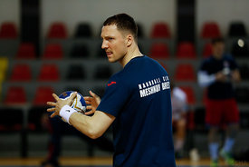 Andrei Yurinok during the Final Tournament - Semi final match - Vardar vs Meshkov Brest - Final Four - SEHA - Gazprom league,...