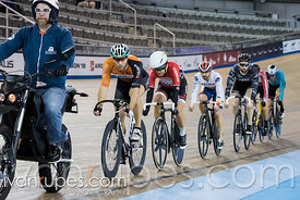 Men Keirin 1-6 Final, 2017/2018 Track Ontario Cup #1, Mattamy National Cycling Centre, Milton On, December 10, 2017