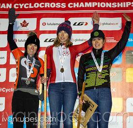 Women 35-44 Podium. 2018 Canadian Cyclocross Championships, November 10, 2018