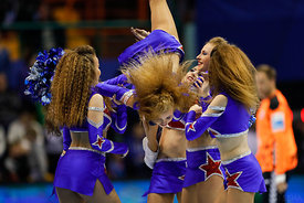 Cheerleaders during the Final Tournament - Final Four - SEHA - Gazprom league, Bronze Medal Match Meshkov Brest - PPD Zagreb,...