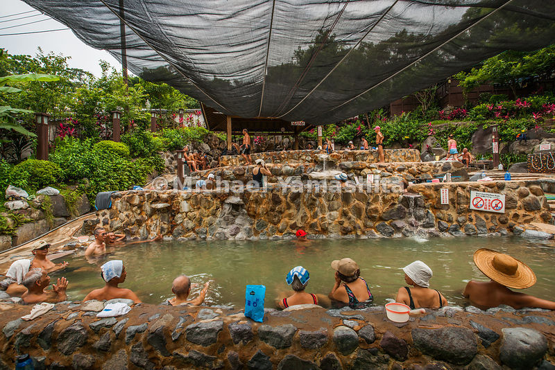 Beitou, Taiwan's best known spa town built by the Japanese. Pics of Public Bath