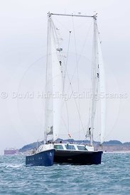 Ra, GBR765M, Moxley 12 catamaran, Round the Island Race 2017, 201707011176