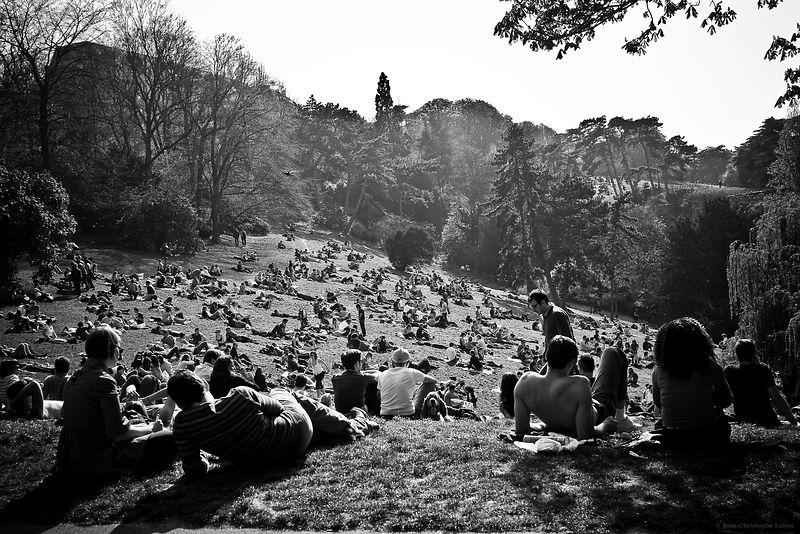 Buttes Chaumont - Paris