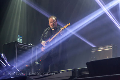Steve Rothery, guitar, Marillion, Anoraknophobia evening, PZ, 2015
