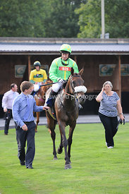 Wed 21st Aug 2013 6.10pm Handicap Steeple Chase with winner Maid of Silk