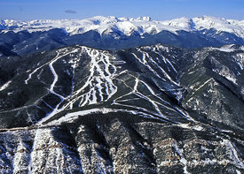 431 Red Lodge Mountain Ski Resort Aerial