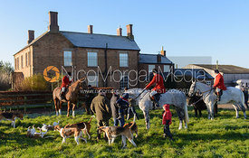 The Belvoir Hunt at Long Clawson