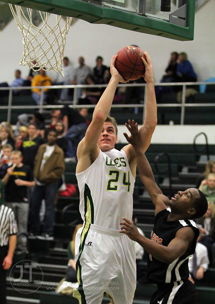 Iowa City West High Boys Basketball vs Waterloo East 12/13/11 Iowa City, Iowa Copyright Justin Torner, 2011