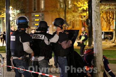 Civil security exercise for Euro 2016 in Toulouse