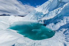 Glacial Lake on Matanuska Glacier
