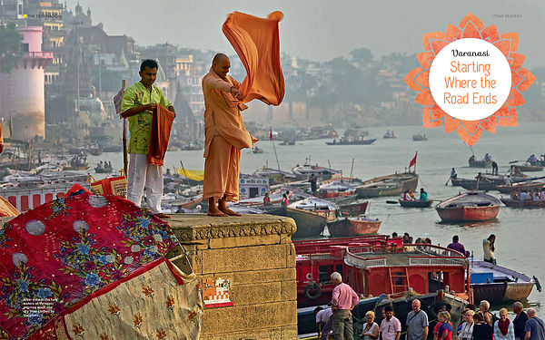 National Geographic Traveller India Magazine; Varanasi Photo Story; November 2017