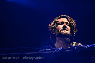 Robbie Bennett, keyboards, The War on Drugs, TBD Fest, 2014