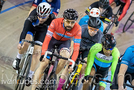 Cat 3 Men Points Race / Omni I. Eastern Track Challenge / O-Cup #3, February 10, 2019