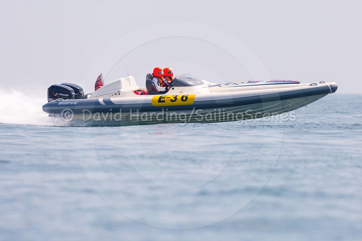 E-36, Fortitudo Poole Bay 100 Offshore Powerboat Race, June 2018, 20180610302
