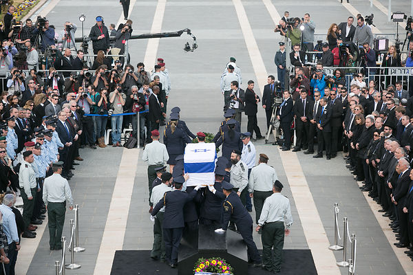 Israel pay her last respects to  former former minister Ariel sharon at the knesset  photos