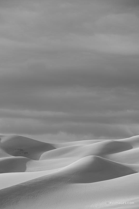 GREAT SAND DUNES NATIONAL PARK COLORADO BLACK AND WHITE VERTICAL DESERT