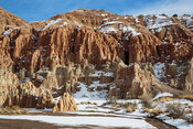 Snow at Cathedral Gorge #2