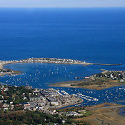 Scituate Harbor From The Southwest, Scituate