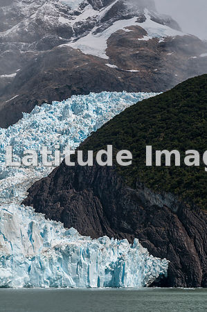 The Spegazzini Glacier In Los Glaciares National Park, Patagonia