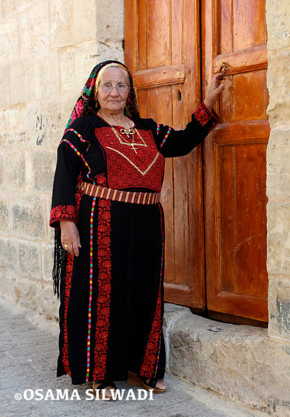 The dress of the of Birzeit